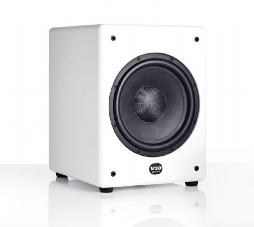 MK V10 Active Subwoofer – White